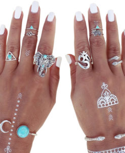 Fashionable-8-Pieces-Boho-Retro-Spirituality-Symbols-Stackable-Midi-Ring-Set-247x300 Body Chain Store