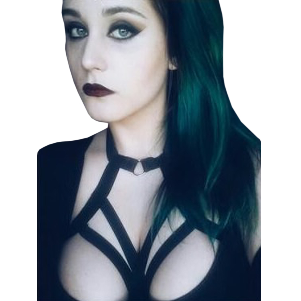 Gothic BDSM Lingerie Exotic Bondage Cosplay Harness Bra