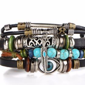 Trendy Leather Bracelet For Men And Women