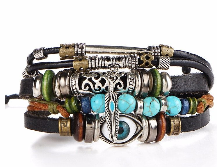 Trendy-Leather-Bracelet-For-Men-And-Women HomePage
