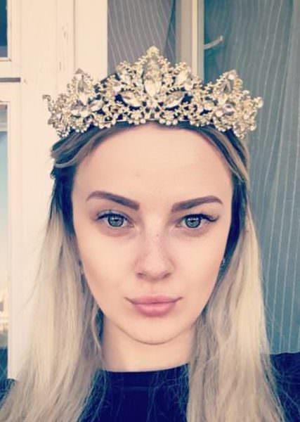 Luxurious Baroque Light Gold Diadem Crown Tiara For WeddingPageantPromCosplay