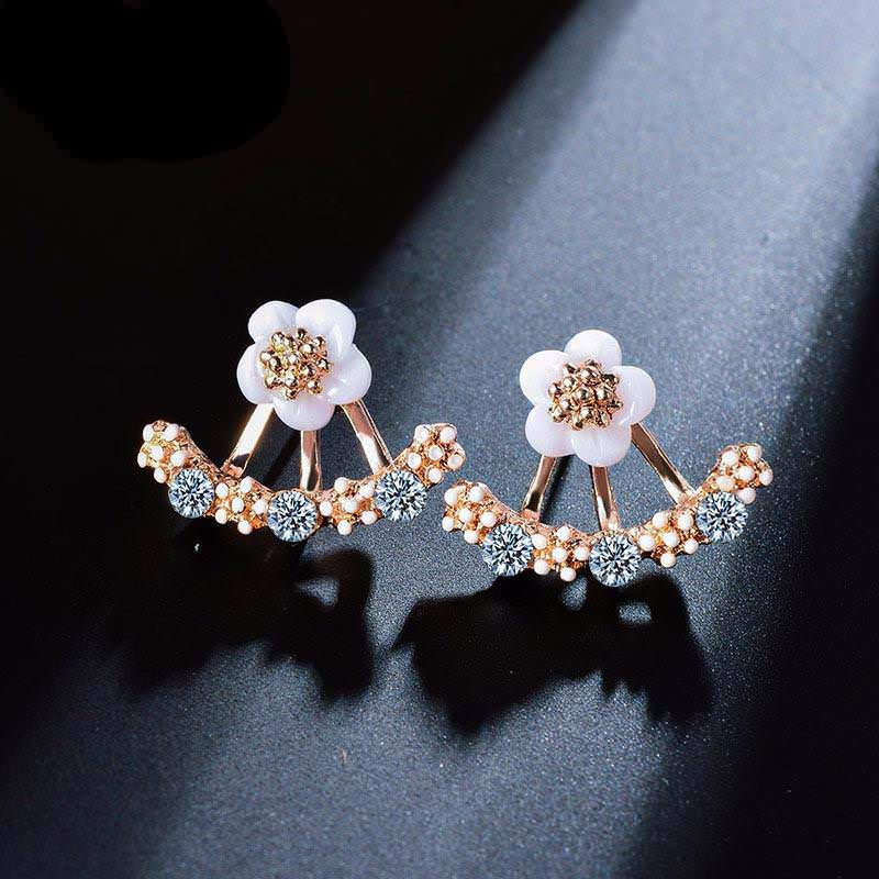 floral-earrings Body Chain Store