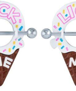 lick me nipple ice cream ring yum