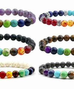 Chakra Healing Beaded Yoga Bracelet For Men And Women