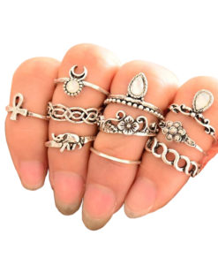 10-Pieces-Unique-Vintage-Carved-Spirituality-Knuckle-Ring-Set-For-Women-247x300 Latest on Sale