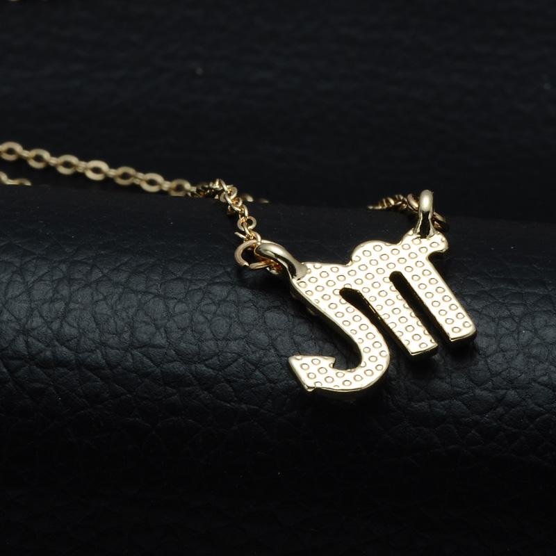 DSC_2537 Rhinestone Encrusted Scorpio Zodiac Constellation Necklace For Women