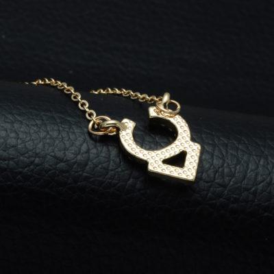 DSC_2550-400x400 Rhinestone Encrusted Taurus Constellation Necklace For Women