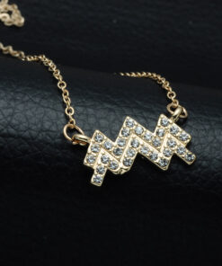 Aquarius Zodiac Necklace
