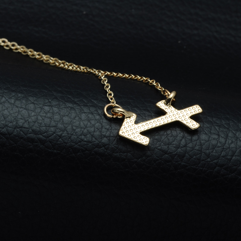 DSC_2571 Rhinestone Encrusted Sagittarius Zodiac Constellation Necklace For Women