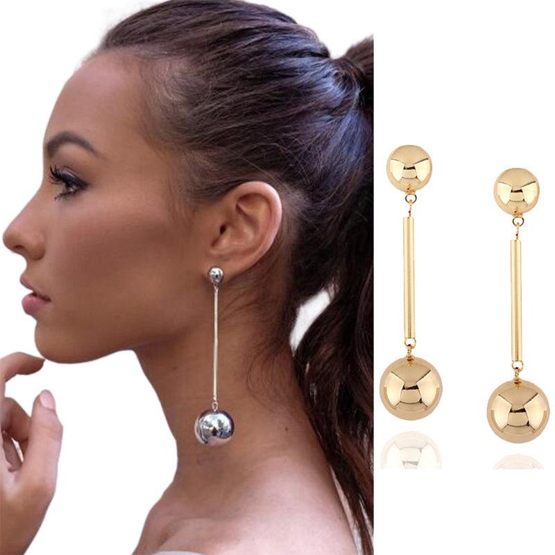 Round-Ball-Long-Chain-Dangle-Jewelry-Trendy-Earrings-800x800 Latest on Sale
