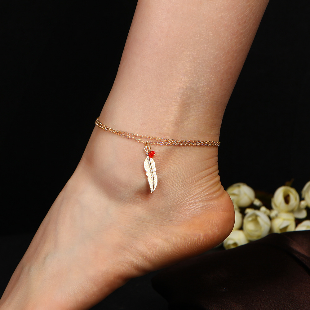 6S Bohemian Barefoot Beach Sandals Anklet Jewelry