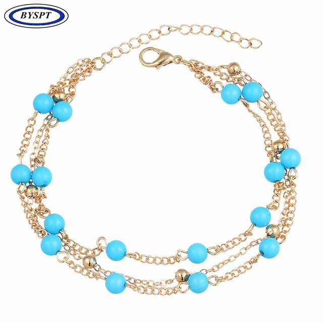 8G Bohemian Barefoot Beach Sandals Anklet Jewelry