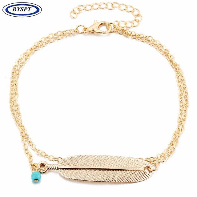 9G Bohemian Barefoot Beach Sandals Anklet Jewelry