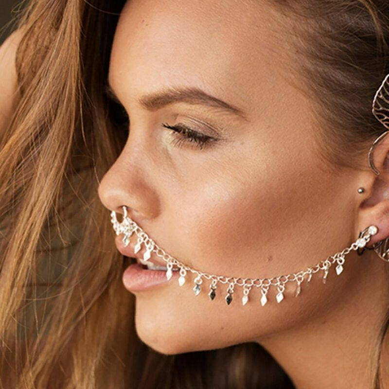 1PcNew-Design-Summer-Style-Tassel-Fake-and-Studs-Earring-Chain-Gold-Hoop-Fake-Septum-Piercing-For-800x800 Latest on Sale