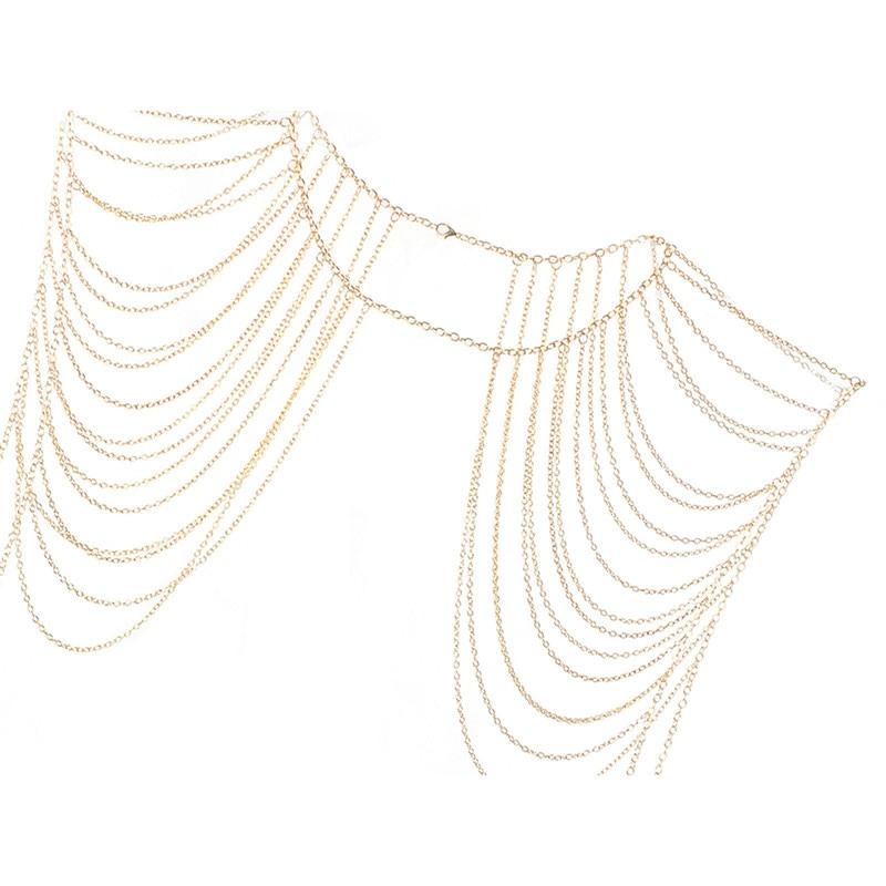 Vintage-Bohemian-Necklaces-Collar-Shoulder-Chain-Long-Necklaces-Pendants-Women-Statement-Body-Jewelry Latest on Sale