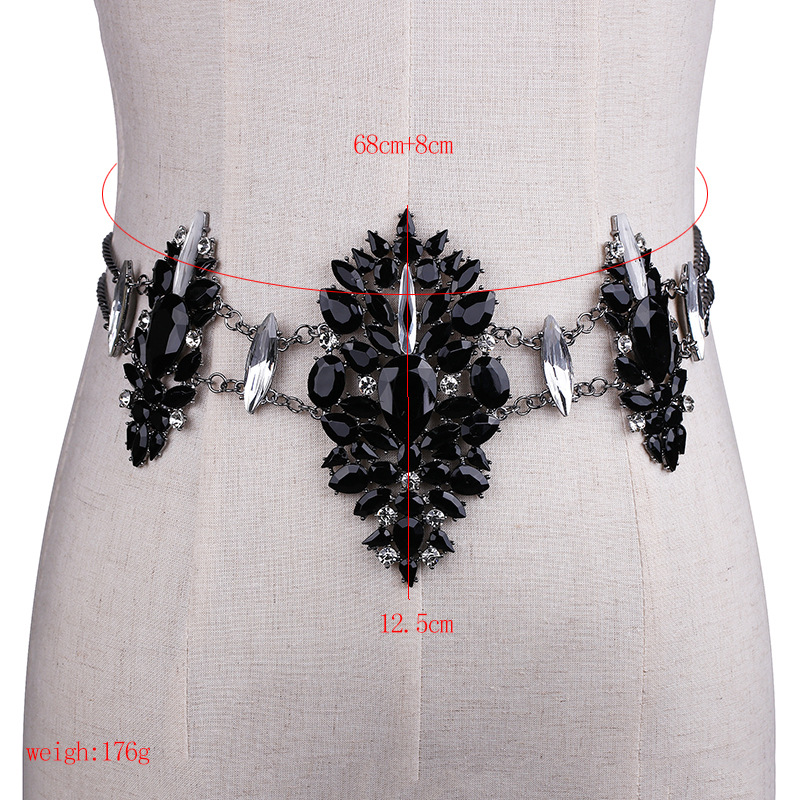 3958016332_669602093 Sexy Crystal Rhinestone Women Waist Chain Body Jewelry