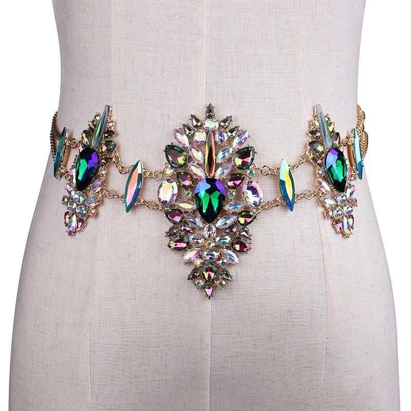 3958016906_669602093 Sexy Crystal Rhinestone Women Waist Chain Body Jewelry