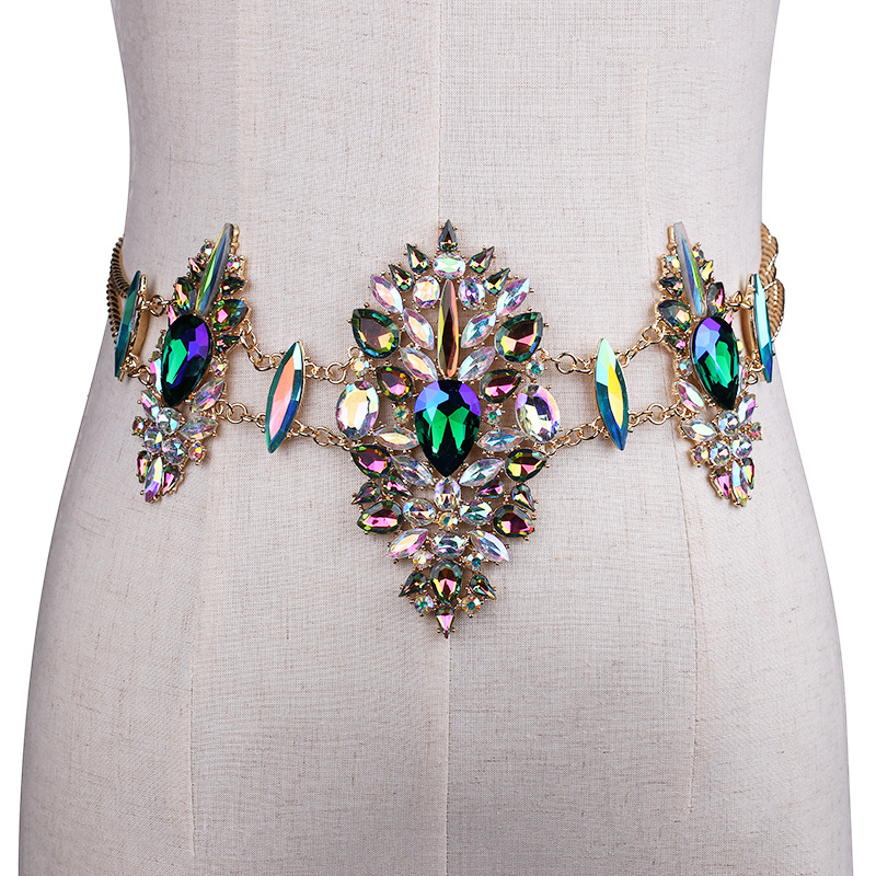 3967966575_669602093 Sexy Crystal Rhinestone Women Waist Chain Body Jewelry