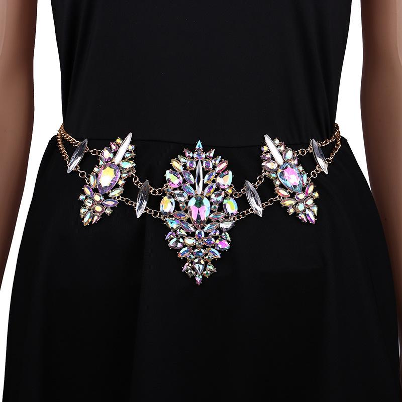 4092199047_669602093 Sexy Crystal Rhinestone Women Waist Chain Body Jewelry