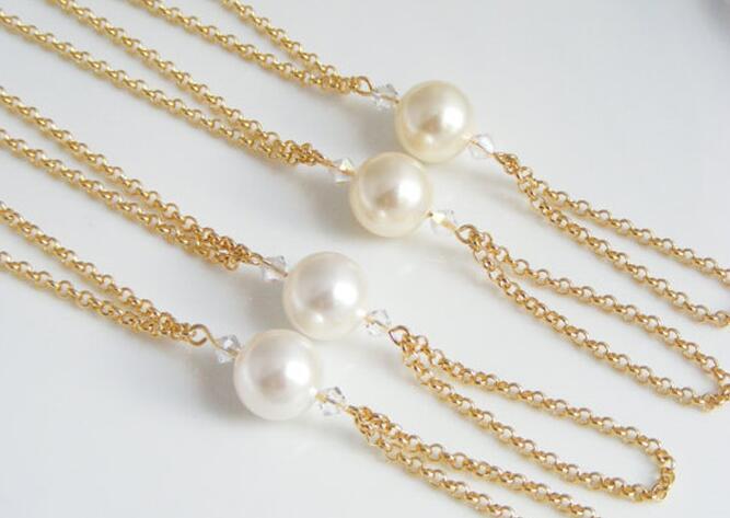 460690706738 Cute Elegant Big Simulated-pearl Foot Jewelry Anklet Bracelet